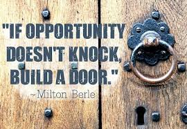Your Enemy at the Door May be Opportunity Knocking